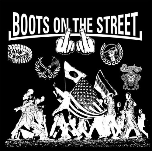 "VARIOUS ARTISTS ""Boots on The Street Vol. 2"" LP"