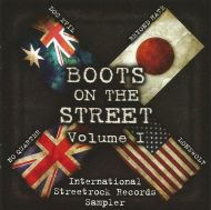 "VARIOUS ARTISTS ""Boots on The Street Vol. 1"" CD"