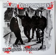 "MAJOR DISAPPOINTMENT ""Underground Allegiance"" LP (2 Colors)"