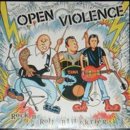 "OPEN VIOLENCE ""Rock N Roll Blitzkrieg"" CD"
