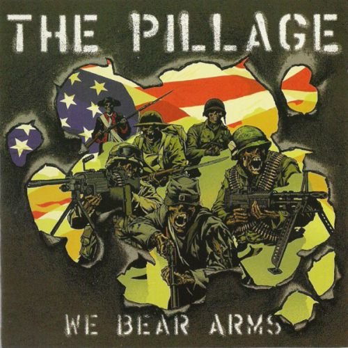 "PILLAGE, THE ""We Bear Arms"" LP"